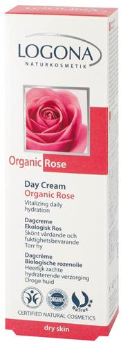 Κρέμα ημέρας τριαντάφυλλο BIO