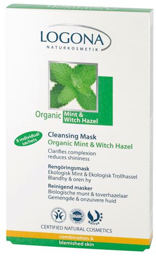 Μάσκα καθαρισμού με μέντα & αμαμελίδα ΒΙΟ